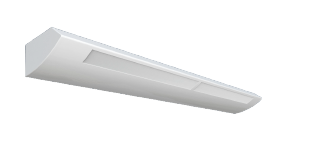 ASW HIGH PERFORMANCE SLOTTED FLUORESCENT WALL MOUNT LUMINAIRE