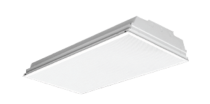 ATR ALUMINUM BODY LAY-IN FLUORESCENT TROFFER LUMINAIRE