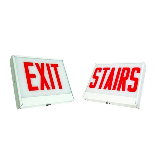 CAX5LU | Chicago Approved Steel LED Exit Sign