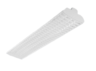 CHB HIGH PERFORMANCE LOUVERED FLUORESCENT HIGHBAY LUMINAIRE