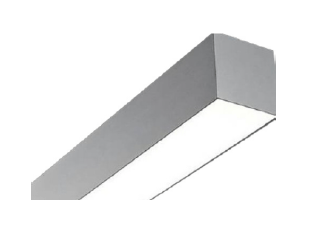 "DL3SMS HIGH PERFORMANCE 3"" x 3"" APERATURE FLUORESCENT LINEAR SURFACE LUMINAIRE"