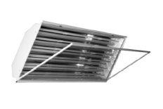 FHBL High Quality Full Body High Bay Luminaire Wired for or with LED Tubes