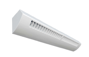 LALW - Louvered LED Wall Mount Linear Luminaire