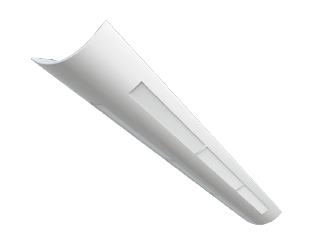 LINEAR SLOTTED LED PENDANT MOUNT LASP