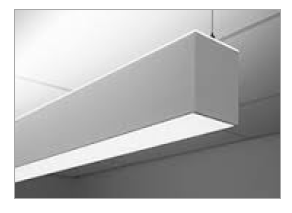 LDL24DIDS | Suspended Mount Direct/Indirect Steel LED Luminaire