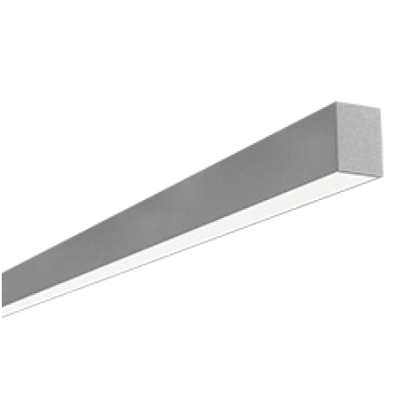 LDL6DIDA | Suspended Mount Direct/Indirect Aluminum LED Luminaire
