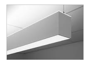 LDL24DA | Suspended Direct Aluminum LED Luminaire