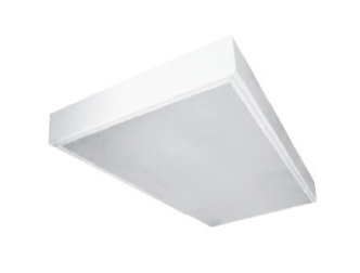 LSMC Surface Mount Clean Room LED Luminaire