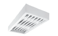 LTCS Clean Room LED Closed Cell Gasket Recessed Luminaire