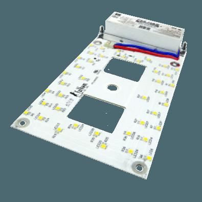 120VAC / Universal Input Rectangular LED DC Engines and LED DC Engine Retrofit Kits