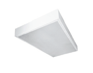 SMC Clean Room Surface Mount Fluorescent Luminaire