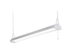 SWL Single Lamp Narrow Wrap Wired For or With LED Tubes