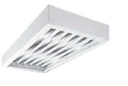 TCS Clean Room Fluorescent Closed-Cell Gasketed Recessed Luminaire
