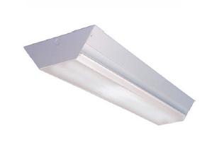 WD - Angled Fluorescent Wrap Luminaire