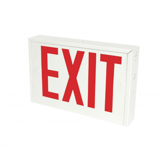 X14U New York Approved Steel LED Exit Sign