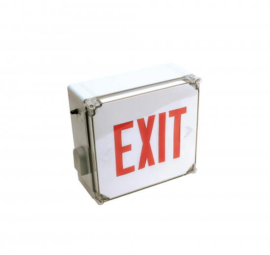 X16WL Wet Location LED Exit Sign