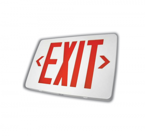 X4U Thin Thermoplastic LED Exit Sign