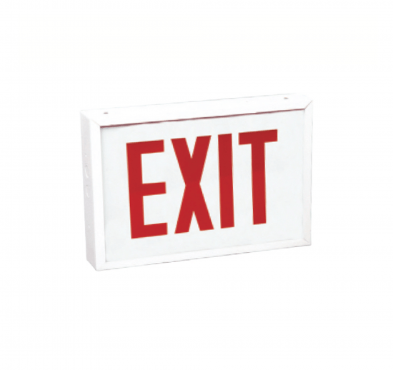 XEM10&XEM10PU Chicago Approved Incandescent Exit Sign