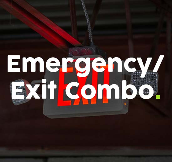 Emergency/Exit Combination