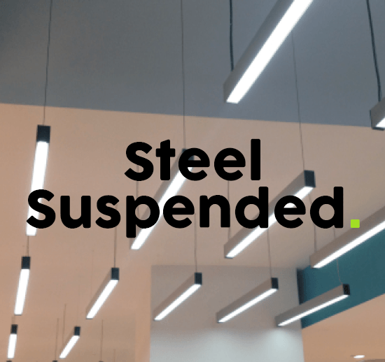 Steel Suspended